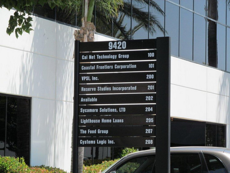 Building Directory  - Berloc Sign Co.